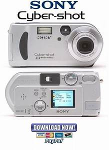 Sony Cybershot Dsc-p71   P71m Service Manual  U0026 Repair Guides