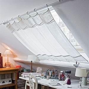 Gardine Für Dachfenster : gardine f r dachfenster deko pinterest dachfenster gardinen und dachzimmer ~ Watch28wear.com Haus und Dekorationen