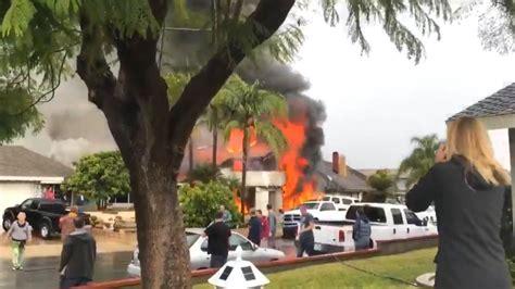 california plane crash kills   super bowl party