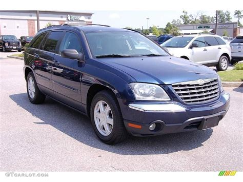 Chrysler Pacifica Touring 2005 by 2005 Midnight Blue Pearl Chrysler Pacifica Touring