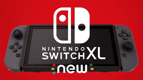 Introducing New Nintendo Switch Xl (parody)