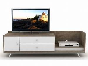 Meuble Tv D Angle Conforama : meuble tv d 39 angle en bois brut ~ Dailycaller-alerts.com Idées de Décoration