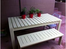 Ana White Outdoor Dining Table DIY Projects