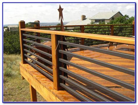 Deck Railing Ideas Cheap by Cheap Deck Railing Ideas Decks Home Decorating Ideas