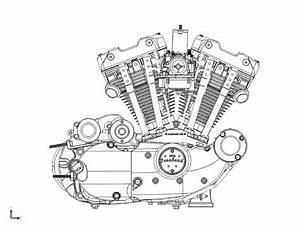 Harley Davidson Sportster Engine Diagram