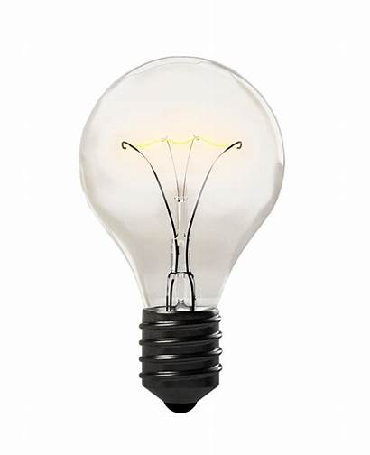 Transparent Bulb Lamp Electricity Electrician Background Electric