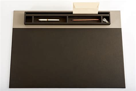 garniture de bureau en cuir parure rive gauche