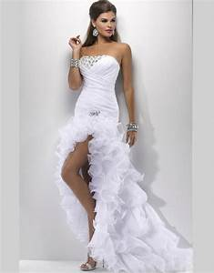 sexy white wedding gowns elegant wedding dresses short With hottest wedding dresses