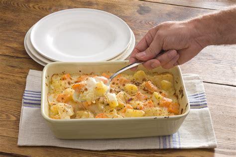 white potatoes recipes scalloped sweet and white potatoes recipe relish