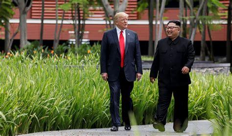 trump   meet north koreas kim  vietnam  late
