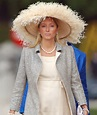 Crown Princess Marie Chantal of Greece attends the wedding ...