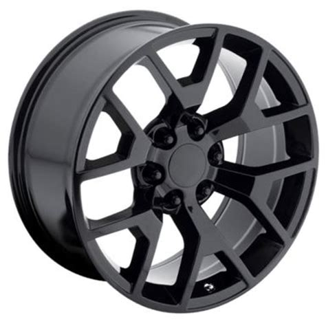 oe replicas wheels 2014 in 22x9 quot gmc 2014 style oe 5656 replica gloss black