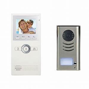 2easy Dk1611 1 Apartment Color Video Intercom Kit W   3 5