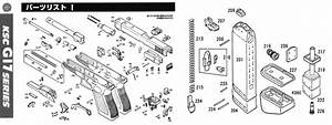 Disassembly  Diy  My Airsoft Gun  And Other Things  Ksc Glock 18c Exploded Diagram