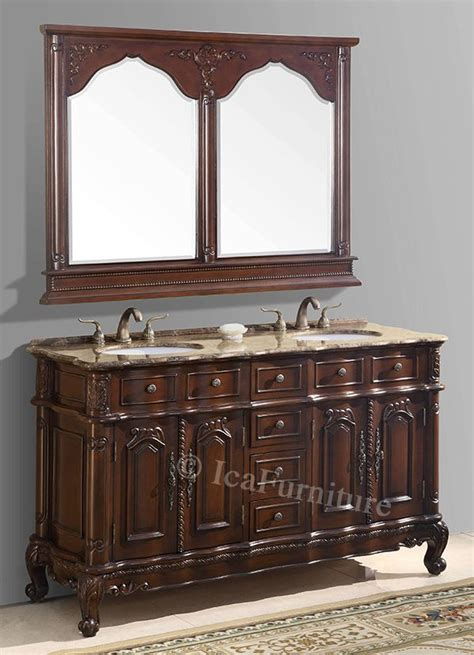 Bathroom Vanity And Sink For Sale by 60 Inch Vanity With Mirror Ica Furniture Products