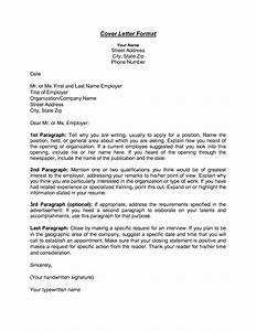 format cover letters jantarajcom With sample cover letter without addressee
