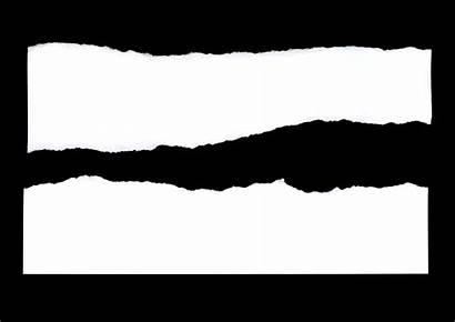Torn Paper Texture Photoshop Edges Transparent Textures