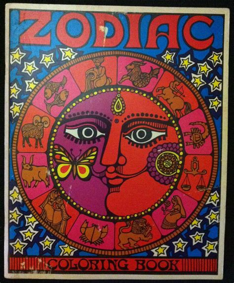 troubador press zodiac coloring book   warps