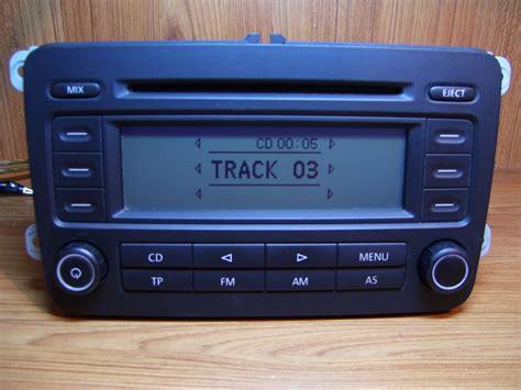 vw golf 5 radio polovni vw golf 5 passat b6 fabricki cd radio rcd300