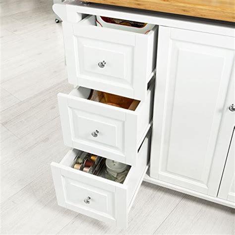 meuble cuisine avec tiroir sobuy fkw30 wn desserte sur roulettes meuble chariot de