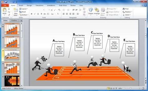 create business performance powerpoint