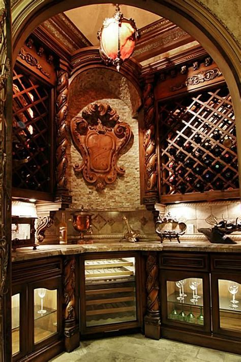 Wine Cellar Iron Door