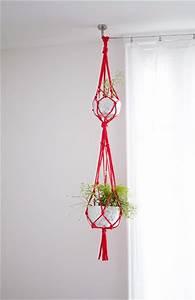 Suspension Pour Plante : diy suspension pour plantes en trapilho supports pour ~ Premium-room.com Idées de Décoration