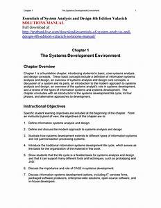Essentials Of System Analysis And Design 4th Edition