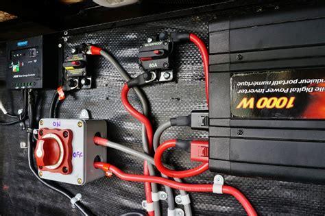 upgrading  rv battery bank   volt system