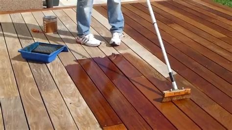 Oil Or Stain For Decking how to restore weathered wooden decking pechar s r o