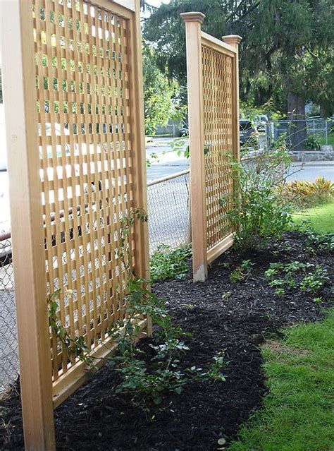 lattice privacy screen outdoor lattice privacy screen woodworking projects plans
