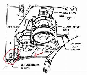Honda Snowblower Auger Parts Diagram Html