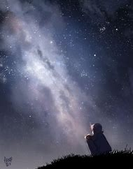 Milky Way Drawing