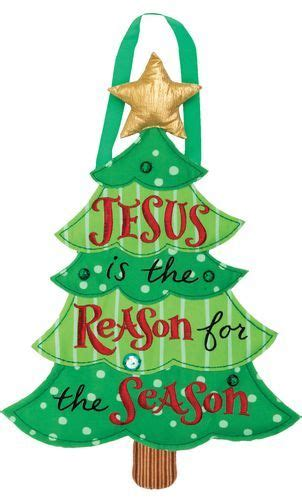 reason for christmas trees jesus is the reason for the season tree themed door hanger for your outdoor or indoor