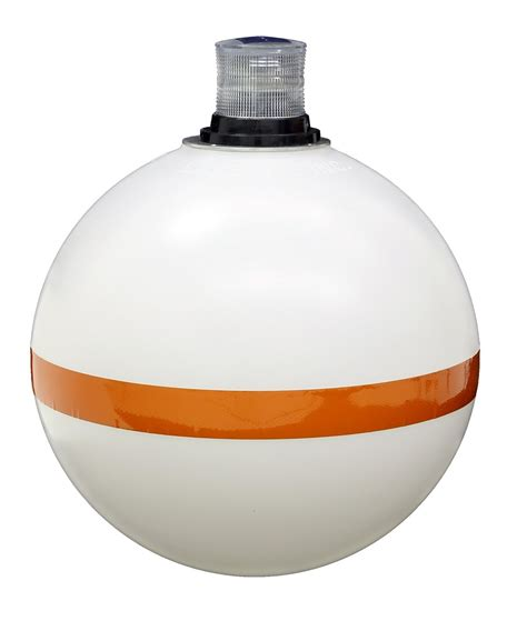 Marker Buoy With Solar Navigation Light  View All Lake