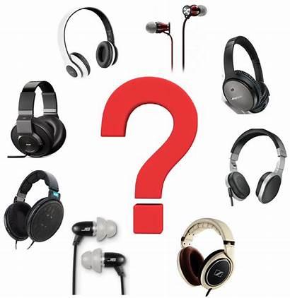 Types Headphones Different Headphone Type Kinds Many