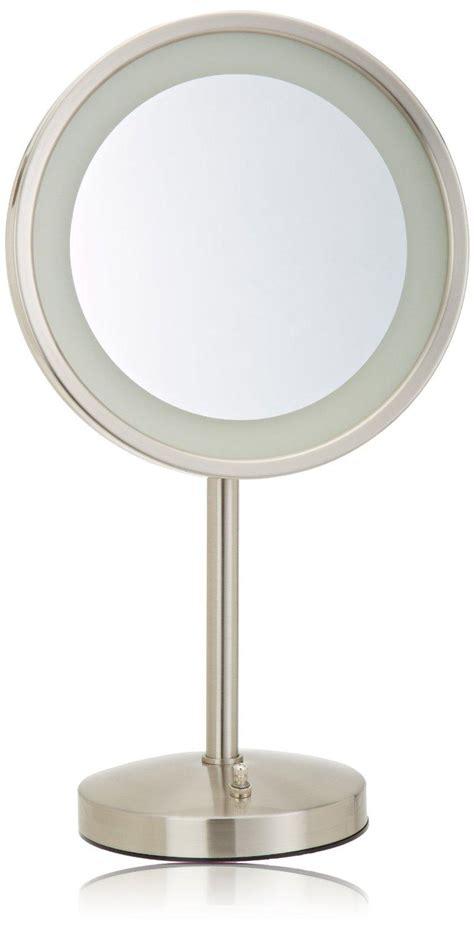lighted makeup mirror amazon amazon com jerdon hl1015nl 9 5 inch led lighted vanity