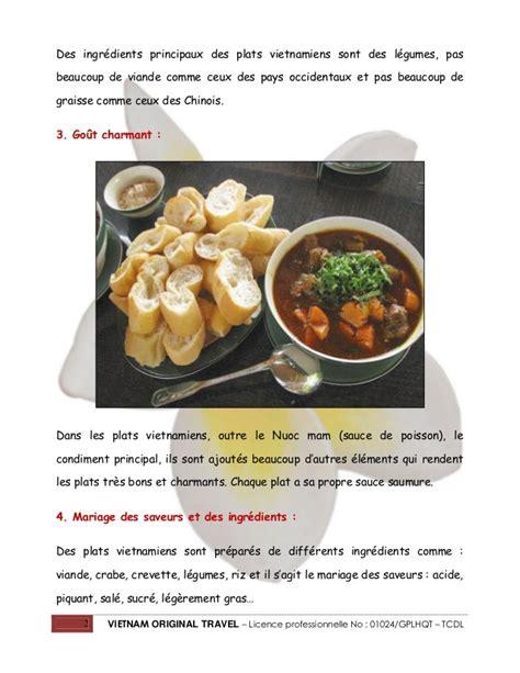 la cuisine vietnamienne 9 caractéristiques de la cuisine vietnamienne