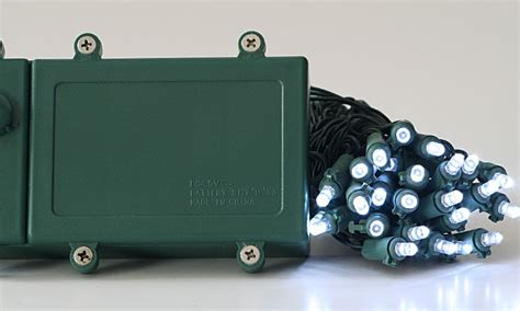 battery operated 100 white led lights outdoor multi
