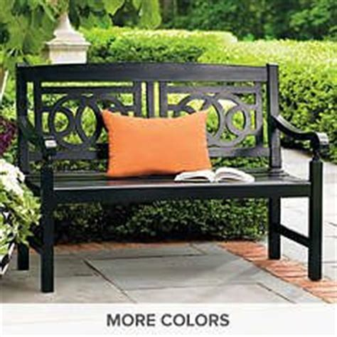 Outdoor Benches  Wood Benches  Metal Benches Grandin