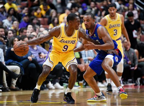 lakers rajon rondo grows  influence   vocal leader