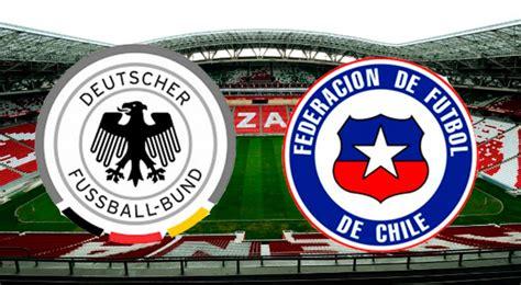 VER Chile vs. Alemania EN VIVO ONLINE MEGA DIRECTV GRATIS ...