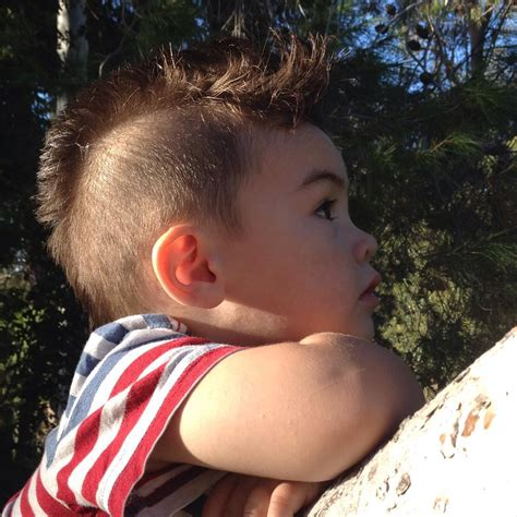 edgy mohawks hairstyles  kids design trends