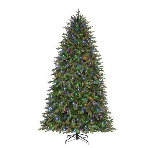 9 ft pre lit led monterey fir artificial christmas quick