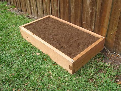 raised landscape beds 2x4 raised garden bed garden in minutes
