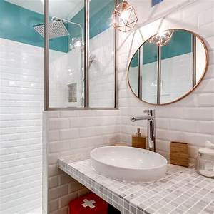 amenager une petite moyenne salle de bain 20 photos With petites salles de bains