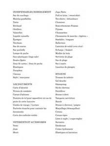 peigne rasoir coupe cheveux liste pour partir en vacances liste pour partir en vacances pdf fichier pdf