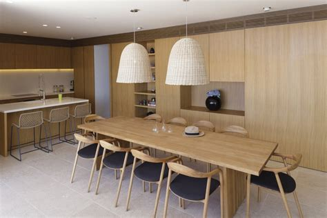 wood dining table lighting kitchen island house in