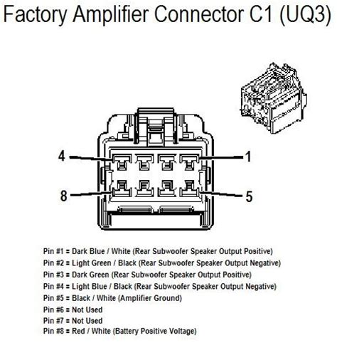 Carfusebox Chevrolet Hhr Amplifer Connector Wiring