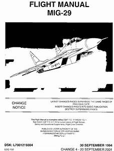 Flight Manual - Mig-29